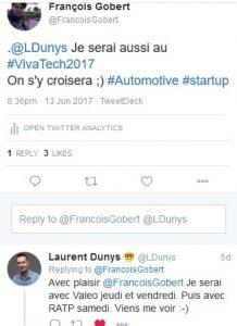 Vivatech tweet